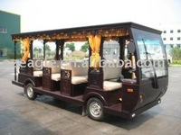 14 seats CE Approved electric shuttle train/BUS VEHICLE/MINI BUS