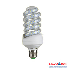 Low price spiral led energy saving light bulb,E14/E27/B22 led corn light ,smd 2835 led bulb lamp