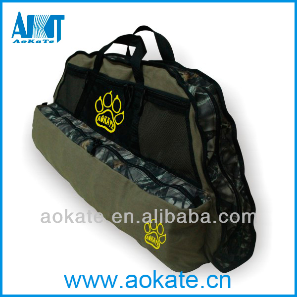 durable camouflage aokate compound bow and arrow case