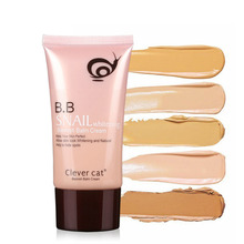 1 PC Moisturizing BB Cream Segregation frost cc cream Whitening Compact FB Cream whitening sunscreen isolation Snail Concealer