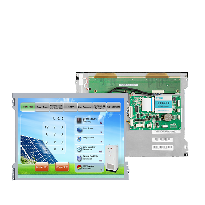 Industrial HMI 12.1 inch LCD touch screen for equipment control