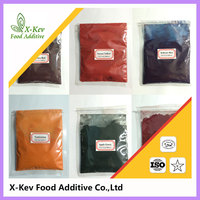food grade dye and food coloring black powder