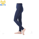 womans workout footless tights fleece lined high waisted leggings