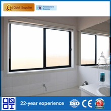 Aluminium double glazed sliding window blinds available for sale