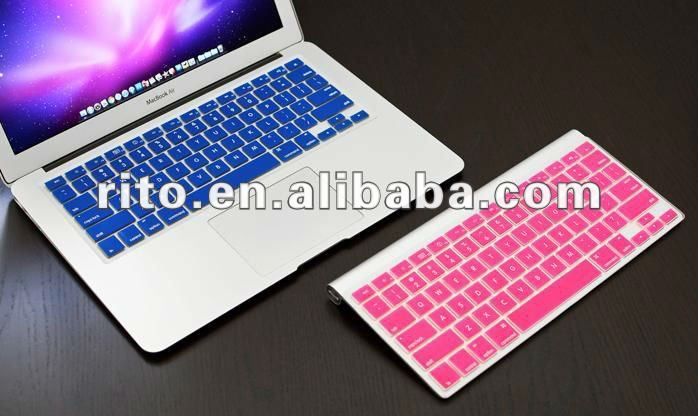 "Silicon KeyBoard Cover Case For MacBook Air 13.3"" 13"""