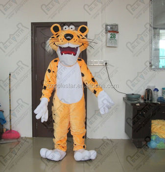 plush animnals cheetah mascot costumes