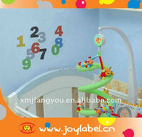 Safe kids room decorative wall stickers for cognizing