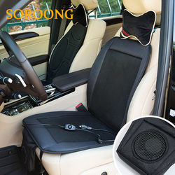 Adult Car Fan Cooling Seat Cushion, Booster Cushion With Fan,Clear Plastic Car Seat Covers
