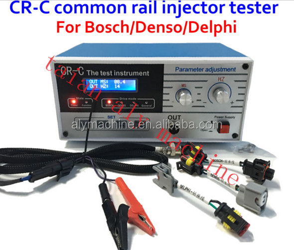 AM CR-C Diesel Common rail injector tester for bosch/delphi/denso + S60H diesel injector tester, common rail injector tester too