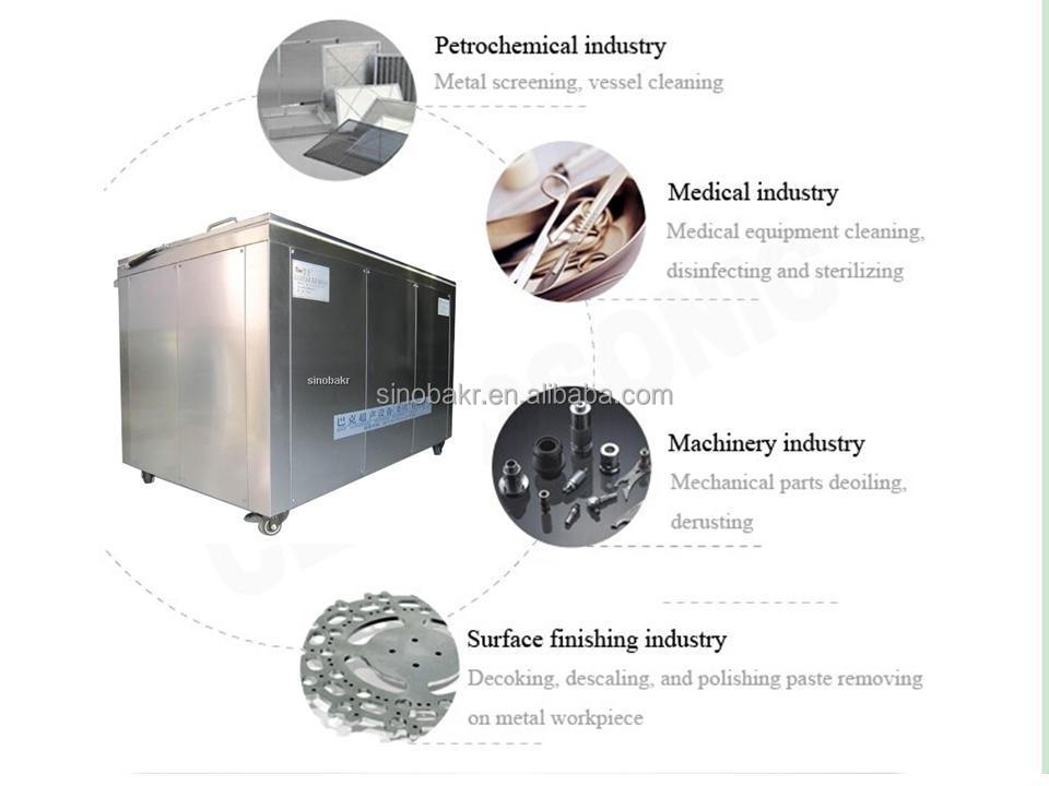 ultrasonic automatic parts washer
