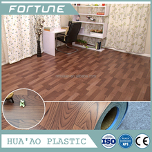 FOAM/SPONGE BACK PVC vinyl flooring roll