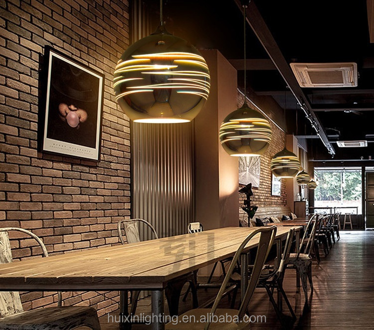 Modern Novelty Glass Lampshades for Ceiling Lights 3D Colorful LED Hanging Ball Pendant Lights