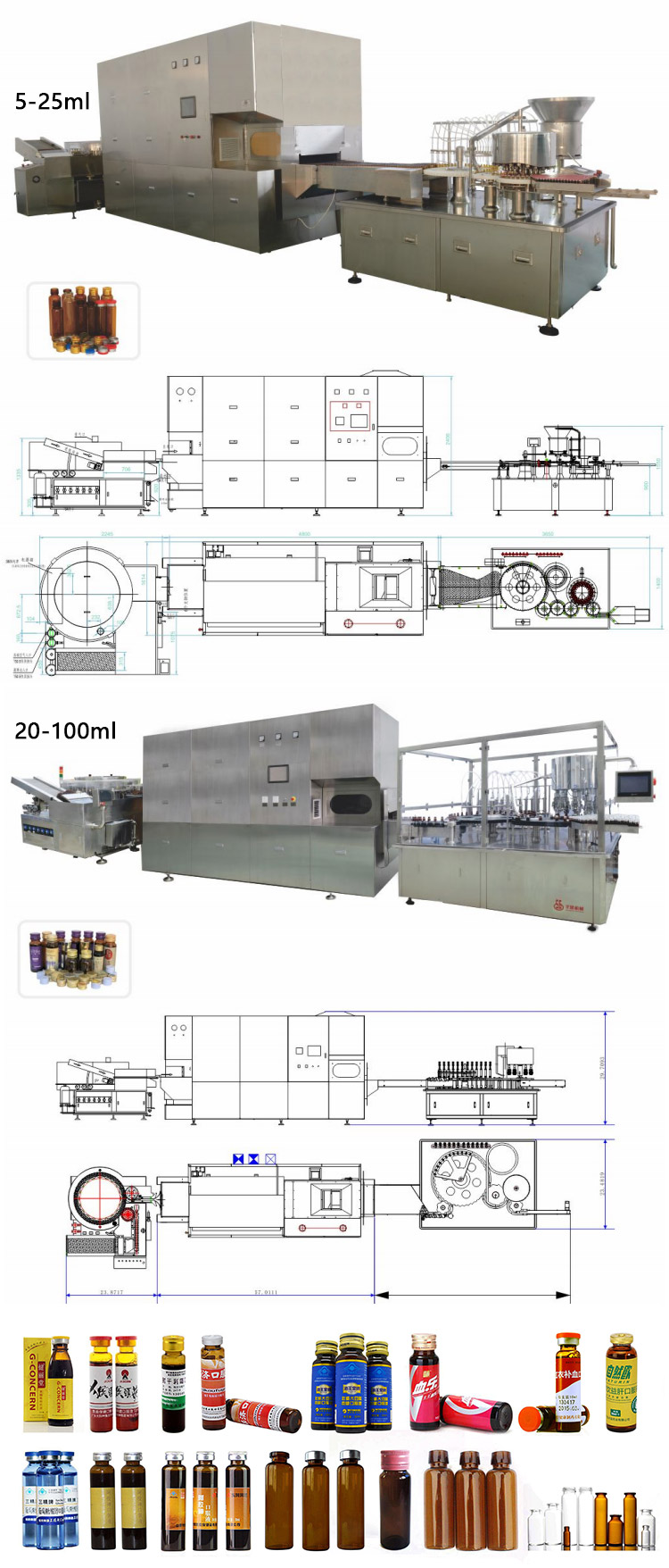 2017 Shanghai SG Small Doses Automatic Filling Machine