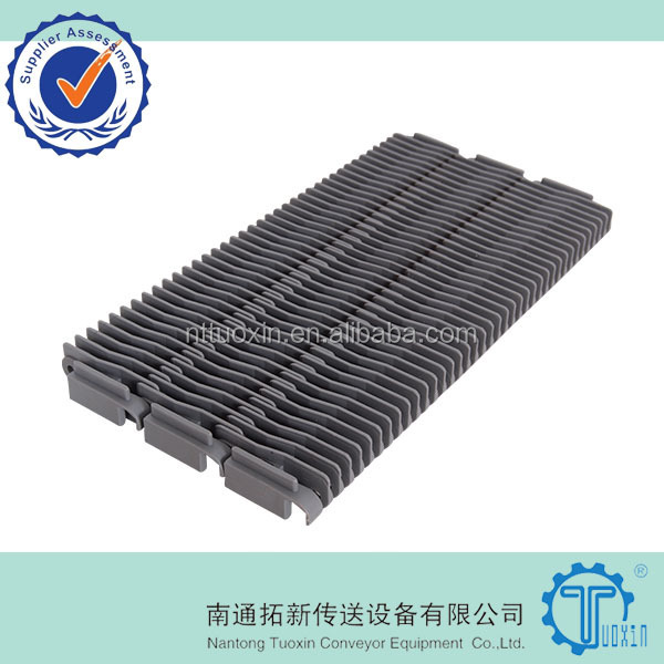 400 Raised Rib Straight Run Plastic Modular Conveyor Belt, Modular Belting