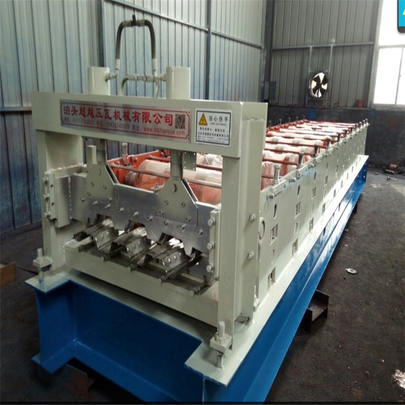 Fully automatic steel floor tile making machine manufacturer