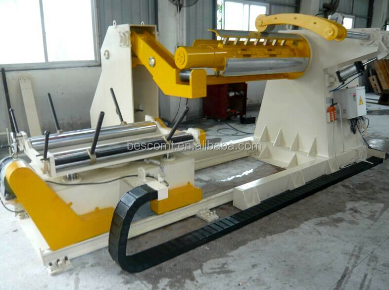 3,6,10,15 tons heavy hydraulic uncoiler,decoiler for coil width150-1600mm