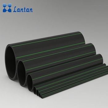 wholesale price flexible black hdpe pipe tubes for water supply and irrigation