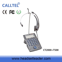 2016 high quality call center dial pad RJ11 headset wire wired telephone telephone keypad with headset