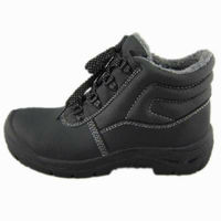 lace up steel cap safety boots high ankle