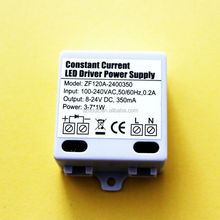 LED driver 3W 350mA constant current driver with CE FCC ROHS GS