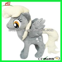 LE h1779 My Little Pony Derpy Hooves Custom Plush Doll Toy
