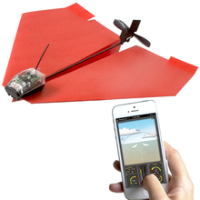 PowerUp 3.0 Smartphone Controlled Drone Technology Paper Airplane