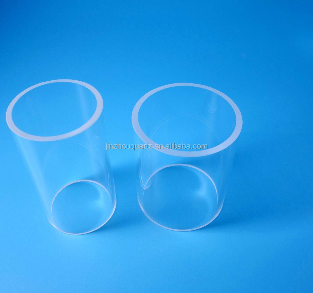 Cheap price quartz glass tube