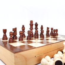 Educational wooden game chess board game