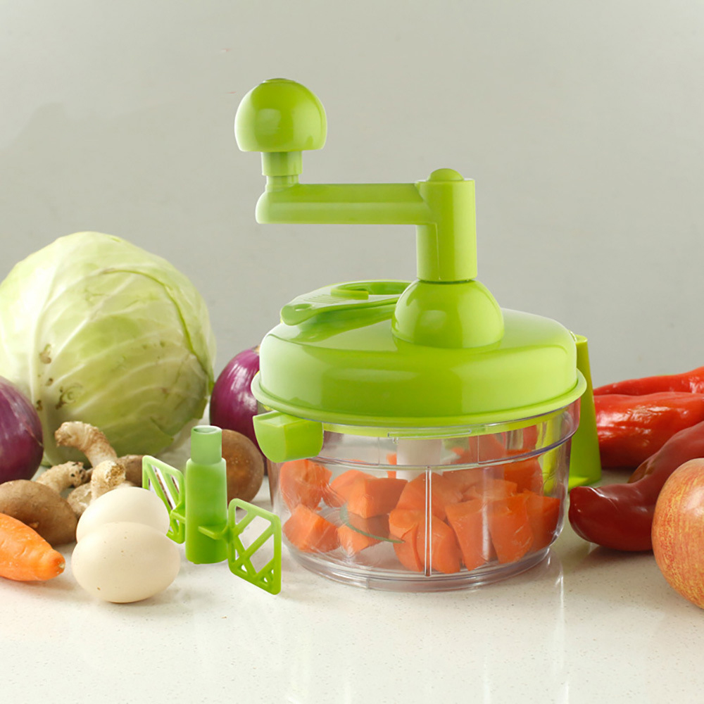 Hand Holder Vegetable Chopper Potato Cutter Chop Onion Magic String Chopper manual quick chopper