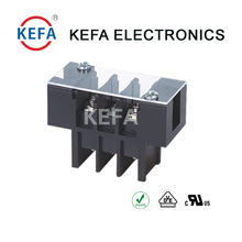 KF17SS-8.5mm pitch Barrier Type Terminal Blocks connector with Cover & Screw 300V 20A