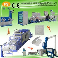 Foamed Plastic Lunch box Container Production Line