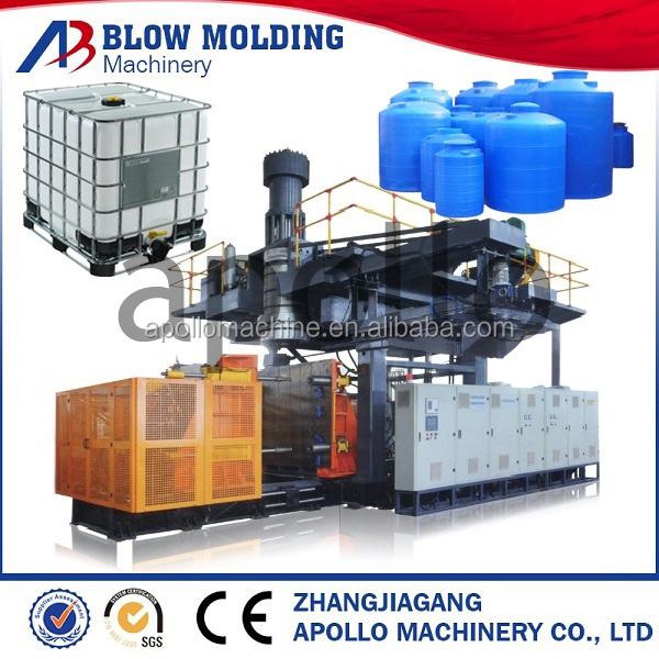 plastic tray blow moulding machine