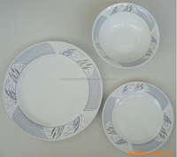 18pcs complete dinner set dishes A grade porcelain dinner ware