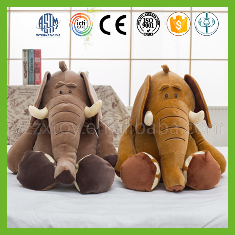 Wholesale baby comfort big ears plush elephant toys