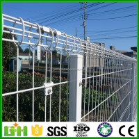 Made in China decorative 868 decorative security high quality beautiful cheap double wire garden fence