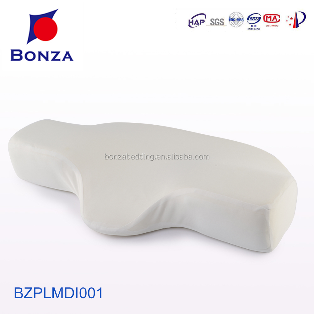 2017 BONZA HIGH QUALITAY bed rest pillow with arms memory foam read pillow WITH FACTORY