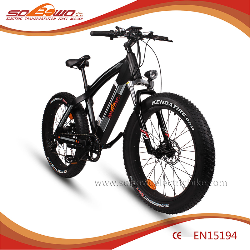 2016 Q7 superior quality SOBOWO fat tire electric bike/electric bicycle mountain ebike