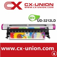 New Model Galaxy UD-3212LD flatbed Eco solvent printer