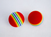rainbow golf ball EVA foam ball