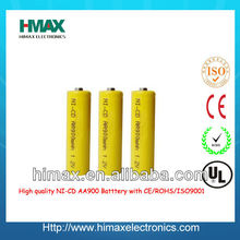 Ni-CD rechargeable battery A/AA/AAA/SC1300mah/C/D size
