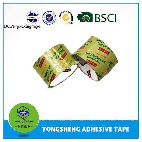 Super clear BOPP tape for packaging adhesive tape