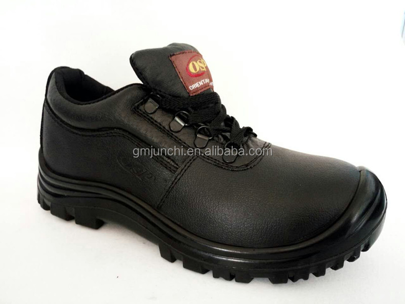 new style genuine leather PU sole safety shoes Qingdao