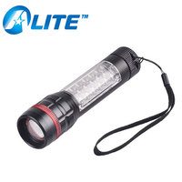 3Modes Light Aluminum LED Flashlight Magnetic Base Light