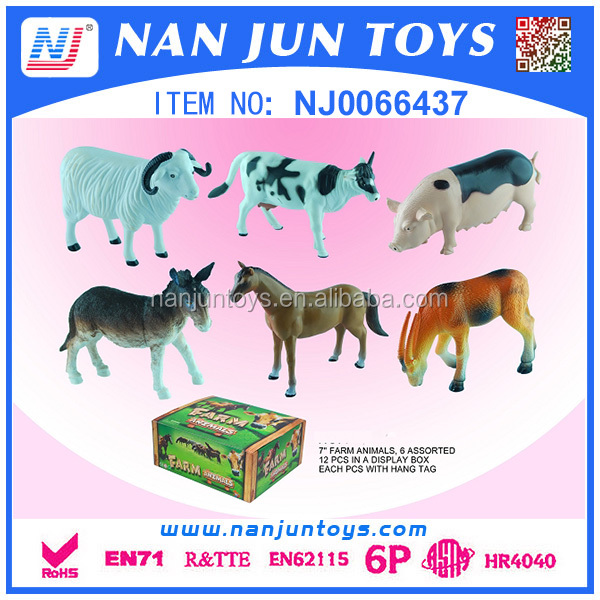 wholesale zoo animal set toy for kids