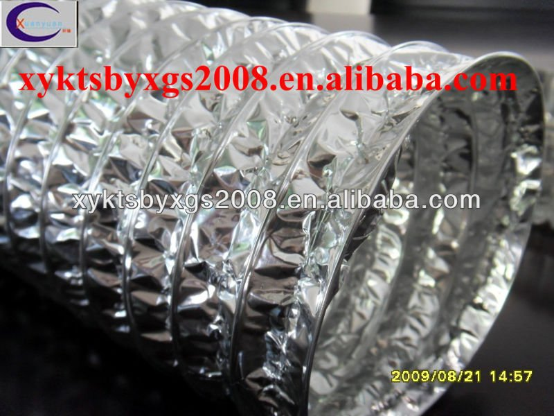 aluminum flexible air ventilation duct oem