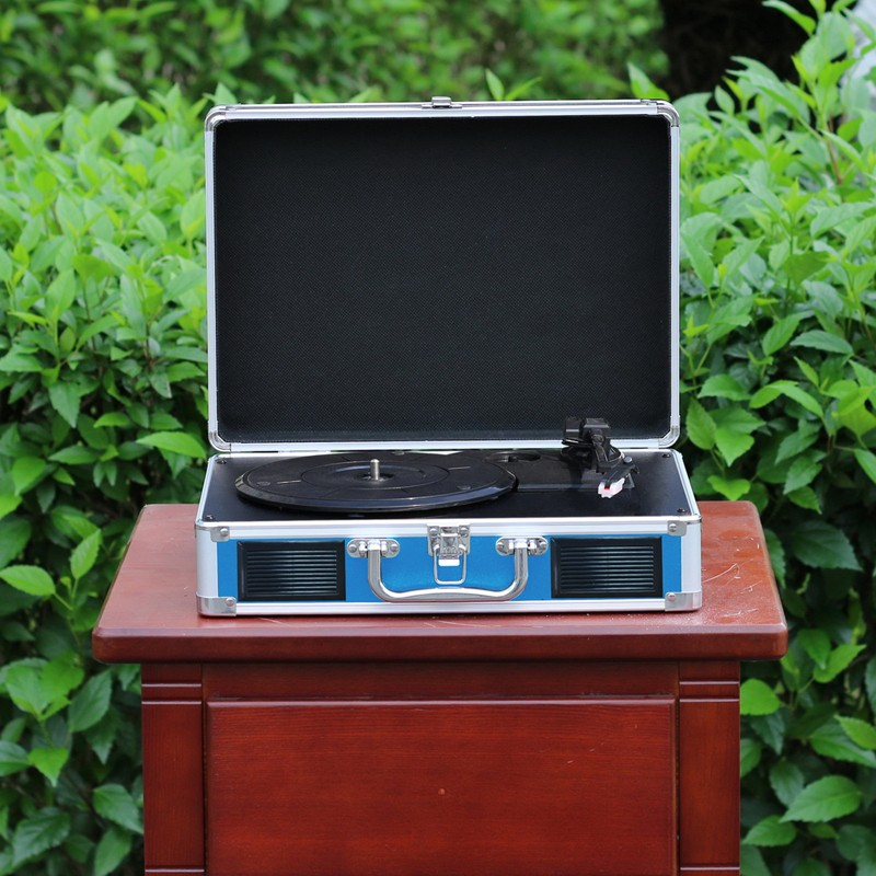 Suitcase Turntable with Aluminum Trim OEM