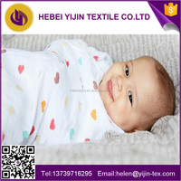 Muslin cotton gauze fabric for baby blanket made in china