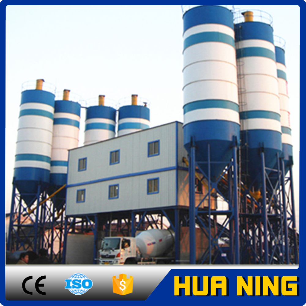 Manufacturer price large capacity hzs120 concrete batching plant for sale