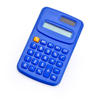Promotional Plastic 8 Digit Pocket Calculator