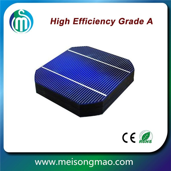Monocrystalline solar cells 156x156 small round solar cell price from solar cell manufacturer